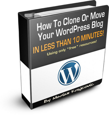 Pay for NEW! How To Clone Or Move Your WordPress Blog  With MRR*