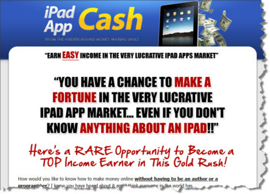 Pay for NEW! Ipad App Cash + MRR + SalesPage + Banners + Much More.