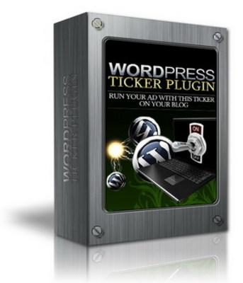 Pay for NEW! WordPress Ticker Plugin