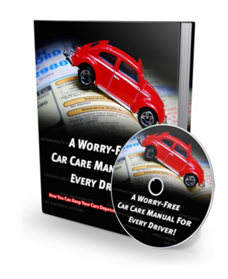 Pay for NEW! A worry-free car care manual for every driver With MRR