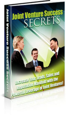 Pay for Joint Venture Success Secrets