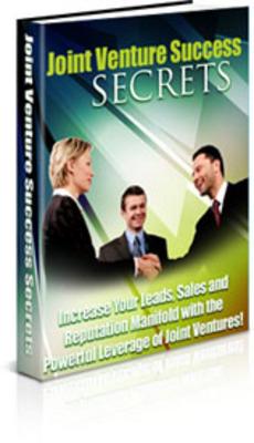 Pay for Joint Venture Success Secrets