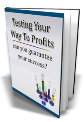 Pay for **NEW** Testing Your Ways To Profits With  Master resale Rights