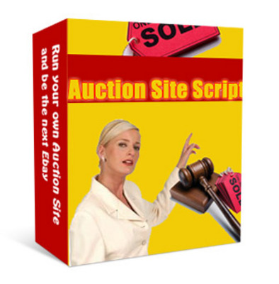 Pay for **NEW** Auction Site Script With Master Resale Rights
