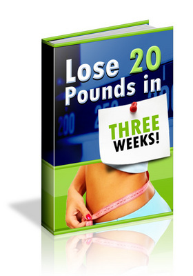Pay for **NEW** Lose 20 Pounds In 3 Weeks With Master Resale Rights