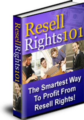 Pay for **NEW** Resell Rights 101  With Master  Resale Rights