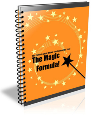 Pay for **NEW** The Magic Formula  With Master Resale Rights