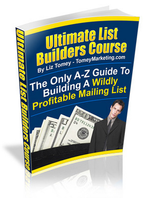 Pay for **NEW** Ultimate List Builders Course - A-Z Guide To Building A Wildly Profitable Mailing List - Master Resale Rights Included.