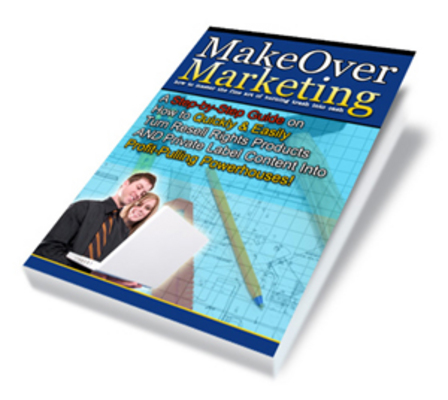 Pay for **NEW** Makeover Marketing With Master Resale Rights