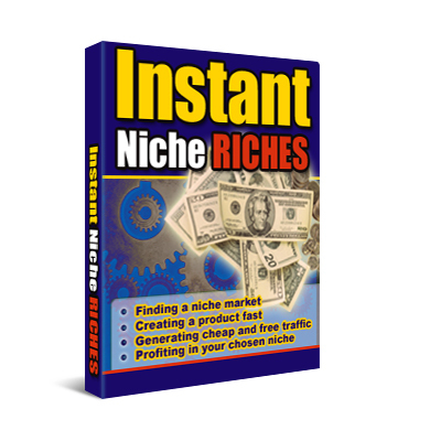 Pay for **NEW** Instant Niche Riches  With Master Resale Rights