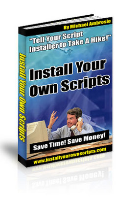 Pay for **NEW** Install Your Own Scripts With Master  Resale Rights