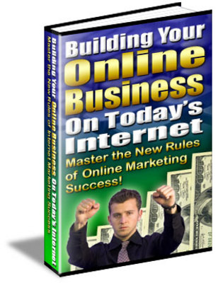 Pay for **NEW** Building Your Online Business On Todays Internet  With Master Resale Rights