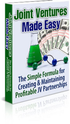 Pay for **NEW** Joint Ventures Made Easy With Master Resale Rights