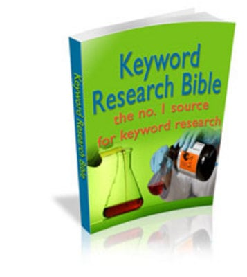 Pay for **NEW** Keyword Research Bible With Master Resale Rights