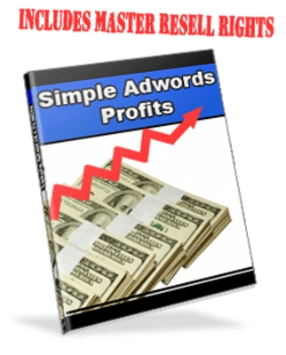 Pay for **NEW** Simple Adwords Profits With Master Resale Rights