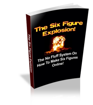 Pay for *NEW* The SIx figure Explosion with  Master Resale Rights