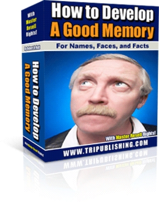 Pay for *NEW* How to Develop a Good Memory  With Master Resale Rights