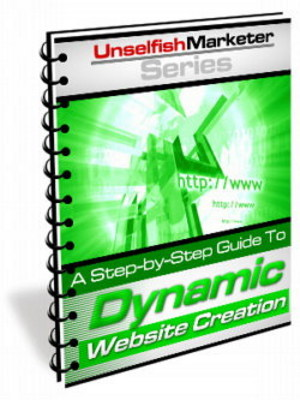 Pay for *NEW* Dynamic Website Creation - How To Create Dynamic Websites ! Master Resale Rights Included.