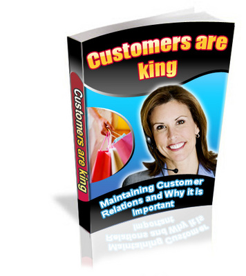 Pay for *NEW* Customers are King  Ebook With Private Labels Rights