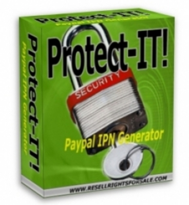 Pay for Protect-IT! PayPal IPN Generator  With Master Resale Rights