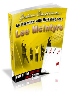 Pay for *NEW* An Interview with Marketing Star Lee McIntyre  With Master Resale Rights