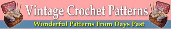 Pay for *NEW* 20 Wonderful Vintage Crochet Patterns ! Resale Rights Included.