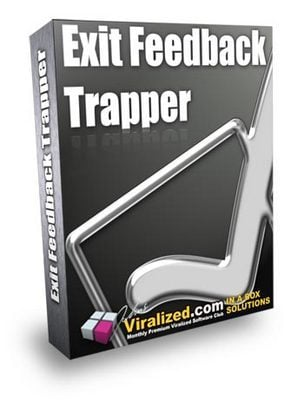 Pay for *NEW* Exit Feedback Trapper ! Master Resale Rights Included.