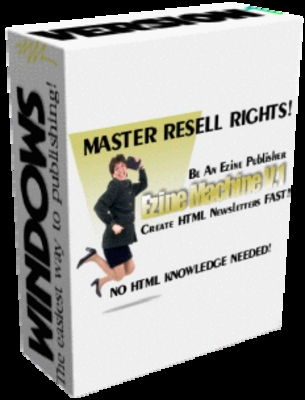 Pay for *NEW* Ezine Machines !Master Resale Rights Included.