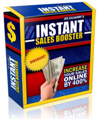 Pay for *NEW* Instant Sales Booster  With Resale Rights
