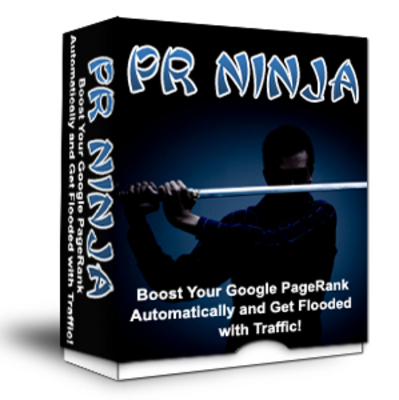 Pay for *NEW* PR Ninja - Raise Your Search Engine Ranking ! Resale Rights included.