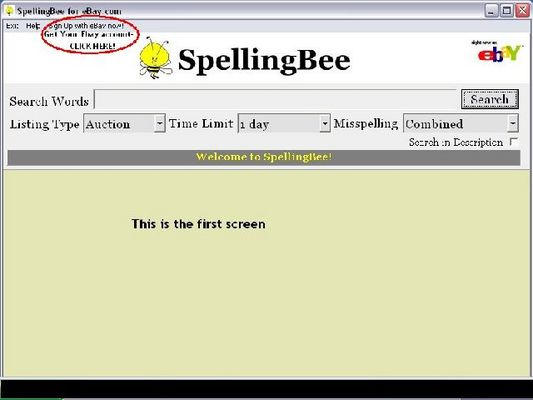 Pay for *NEW* Spelling Bee With Resale RIghts !SpellingBee Helps You Find Misspelled Auction Bargains!