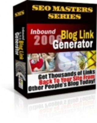 Pay for Blog Link Generator  with Resale Rights