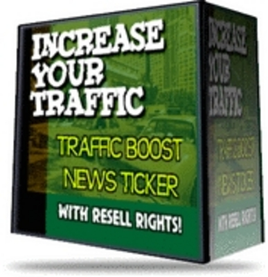 Pay for *NEW* Traffic Boost News Ticker With Resale Rights