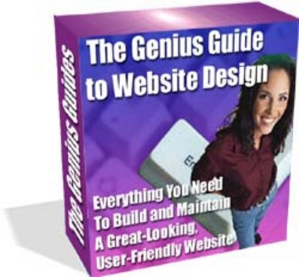 Pay for The Genius Guide To Website Design With Resale Rights