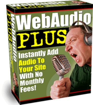 Pay for *NEW* Web Audio Plus  Add Streaming Audio To Your Website With Master Resale Rights