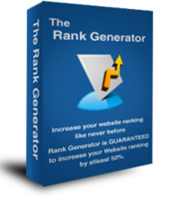Pay for *NEW* The Rank Generator - Increase your Website ranking by atleast 50 ! Private Labels Rights Included.
