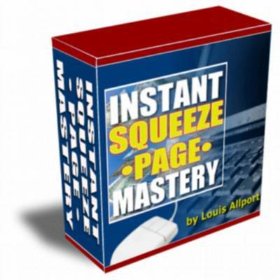 Pay for Instant Squeeze Page Mastery  with Resale Rights