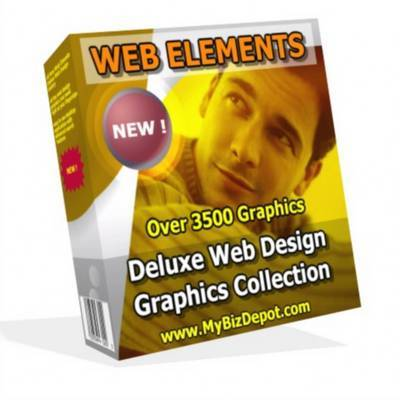 Pay for Web Elements Web Graphics Gallery 2  With MRR