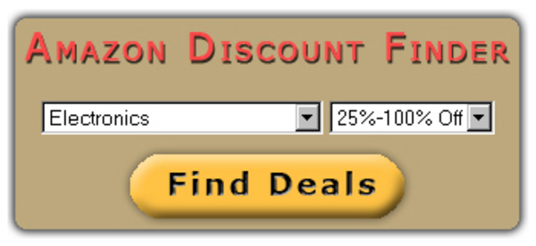 Pay for Amazon Discount Finder With MRR