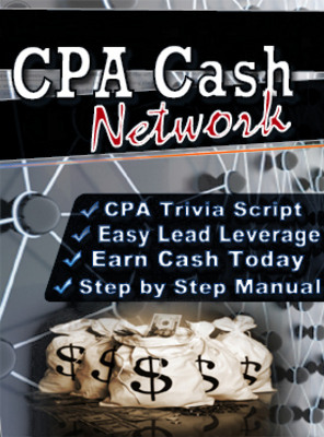 Pay for CPA Cash Network  Script And Ebook With MRR