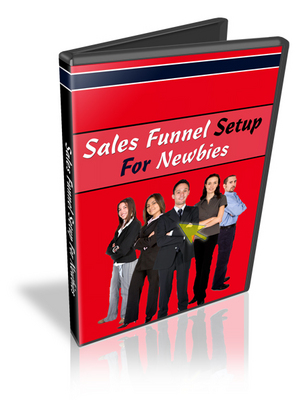 Pay for Sales Funnel Setup For Newbies With Resale Rights