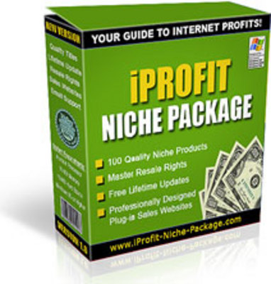 Pay for Iprofit Niche Package  with Master Resale Rights