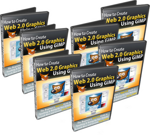 Pay for *NEW* How To Create Web 2.0 Graphics Using GIMP  With MRR