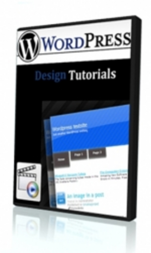 Pay for *NEW* Word PressDesignTutorials with Master Resale Rights