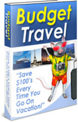 Pay for *NEW*  Budget Trave Guide With Private Labels Rights