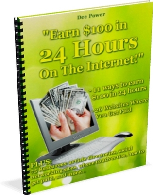 Pay for 100 Dollars In 24 Hours Ebook