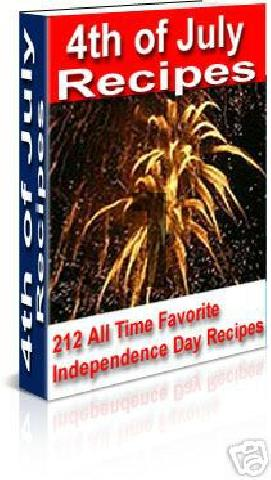 Pay for *NEW* 4th of July Recipes -With Master Resale Rights