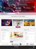 Thumbnail Lumieres Wordpress Theme
