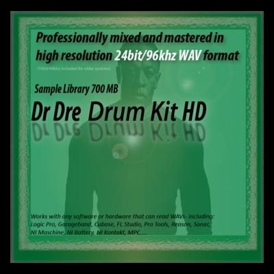 Pay for Dr Dre Drum Kit Samples 24bit Sounds