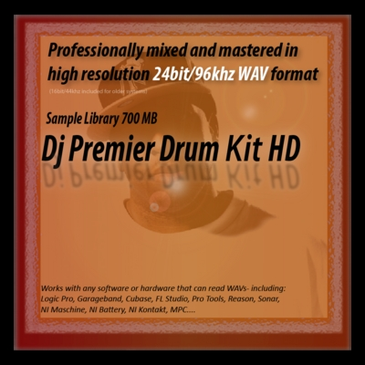 Pay for Dj Premier Drum Kit Samples HD 24bit Sounds